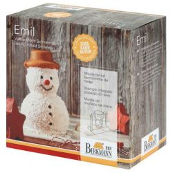 "Birkmann 3D Baking Mold ""Emil"" The Snowman"