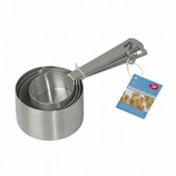 Tala Measuring Cups Set Stainless Steel