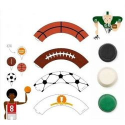 Decora Cupcake Kit Sport 36/pc