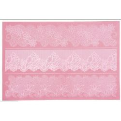 KitchenCraft Large Lace Icing Mat