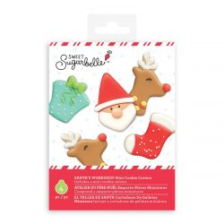 Sweet Sugarbelle Santa's Workshop Mini Cookie Cutters