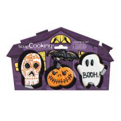 ScrapCooking Cookie Cutters Halloween Set/4