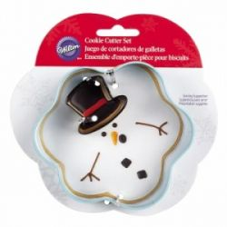 Wilton Cookie Cutter Melted Snowman