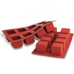 Silikomart Silicone 3D Design Mould - Cubo