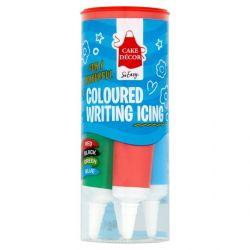 Cake Decor Writing Icing Tubes (BRGB)
