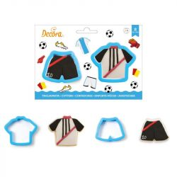Decora Cookie Cutter Soccer Jersey Cookie