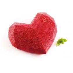 Silikomart 3D Mould  Geometric Heart