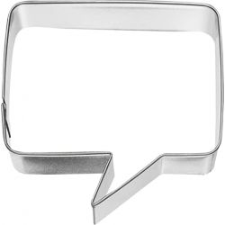 Birkmann Cookie Cutter Speech Bubble Rectangular 7cm