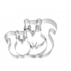 Birkmann Cookie Cutter Squirrel Couple