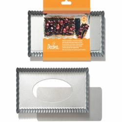 Decora Tart Pan With Removable Bottom 32 x 22 x 3.5 cm