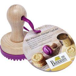 Birkmann Mini Koekjesstempel Cupcake 5cm