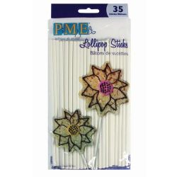 PME Lollipop Sticks - 16cm - PK/35