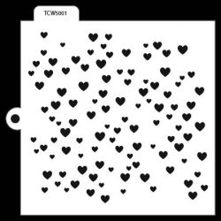 TCW Cookie & Cake Stencil Heart