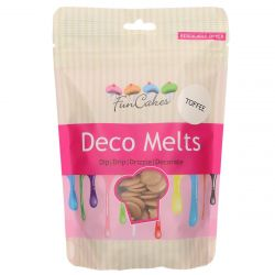 Funcakes Deco Melts Toffee Flavor 250GR