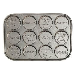 Nordic Ware Treat Pan Funny Faces