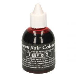 Sugarflair Airbrush Colouring Deep Red 60ml