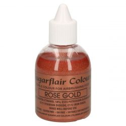 Sugarflair Airbrush Colouring Rose Gold 60ml