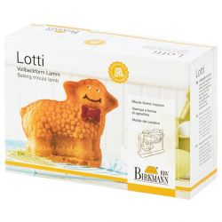 Birkmann 3D baking Mold Lotti, the Lamb