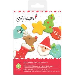 Sweet Sugarbelle Very Merry Mini Cookie Cutters Pk/8