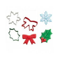 Wilton Cookie Cutter Set Holiday 3pc