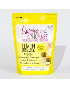 Sugar and Crumbs Lemon Drizzle 500gr