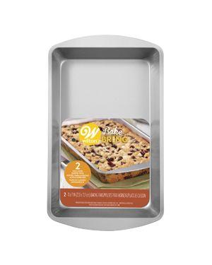 Wilton Bake & Bring Brownie Pan 2/pc