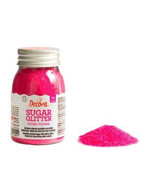 Decora Glitter Sugar Pink 100gr