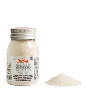 Decora Glitter Sugar White 100gr