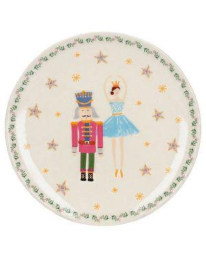 KitchenCraft Nutcracker Plate Plum Fairy