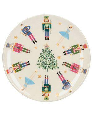 KitchenCraft Nutcracker Plate