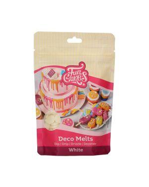 Funcakes Deco Melts Wit 250gr