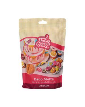 Funcakes Deco Melts Oranje 250gr