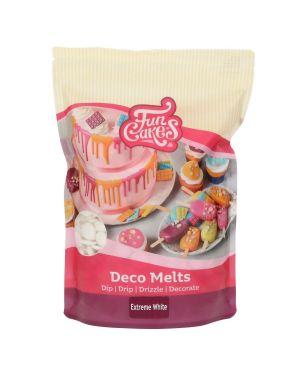 Funcakes Deco Melts Extreem Wit 1kg