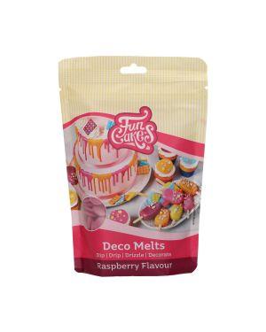 Funcakes Deco Melts Frambozen Smaak 250gr