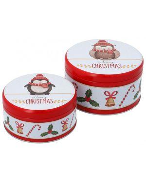 Birkmann Cake Tin Set Merry Christmas S