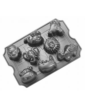 Zoo animals muffin pan