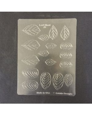 Gelatin Veining Sheet Leaf #1