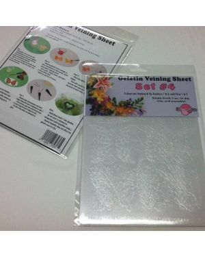 Gelatin Veining Sheet Set #4