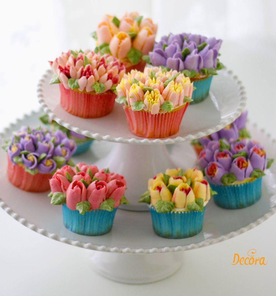 Botercrème voor botercrème bloemen